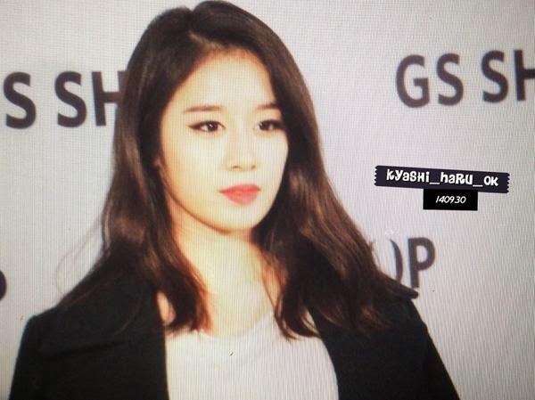 [Hình ảnh] [140930] Jiyeon & Hyomin @GS Shop Fashion event
