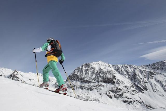 Eine Alternative zum Skifahren: Skitouren im Schnalstal...