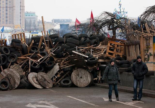 Это уже не Киев - это Европа, надежно защищенная от столицы Украины своими рубежами: