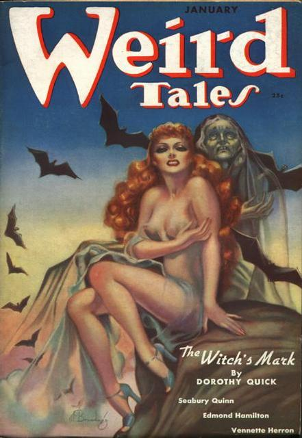 Weird Tales witch