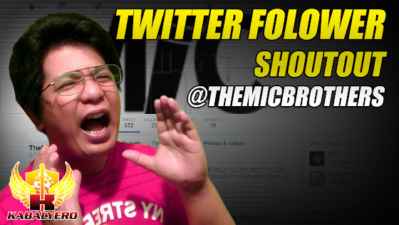 Twitter Follower Shoutout - @TheMicBrothers