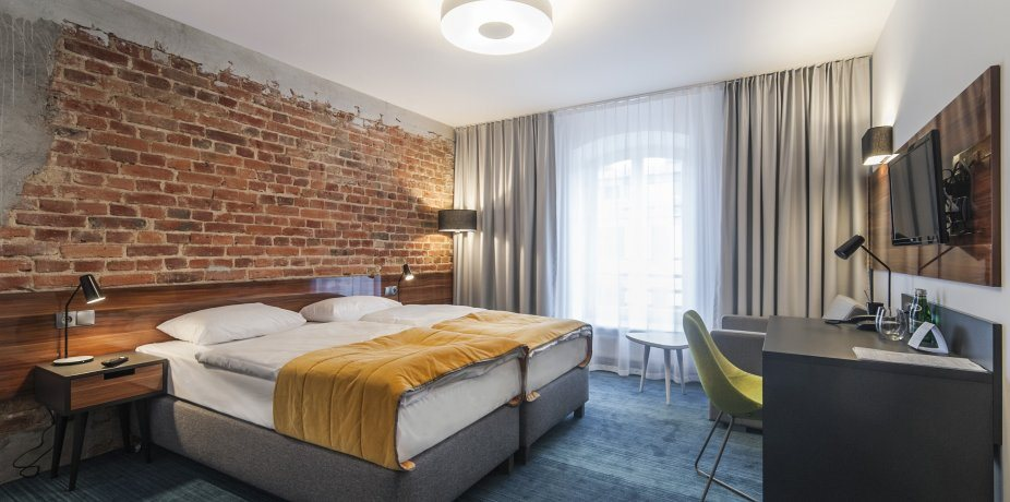 Hotel Tobaco Lodz blog design