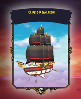 Pirate101 Exclusive Club 3D Ship