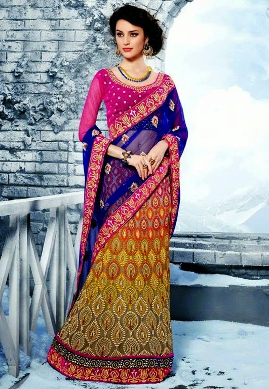 Utsav Embroidered Collection 2014 Indian Native Dresses