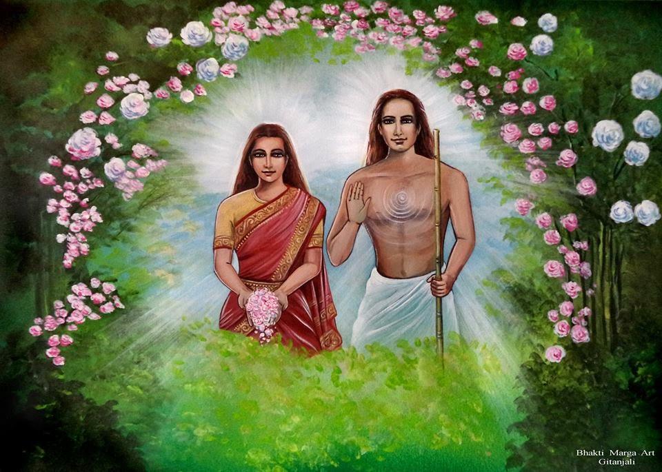 Mahavatar Babaji, le maître immortel Babaji%2BMataji%2BBM%2Bby%2BGitanjali