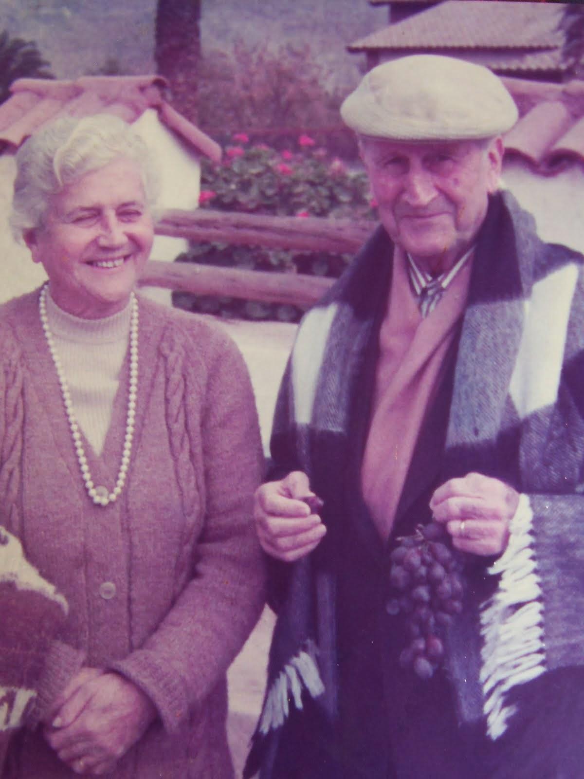 Mis padres, Horacio e Inés,  inspiradores de mi vida académica.