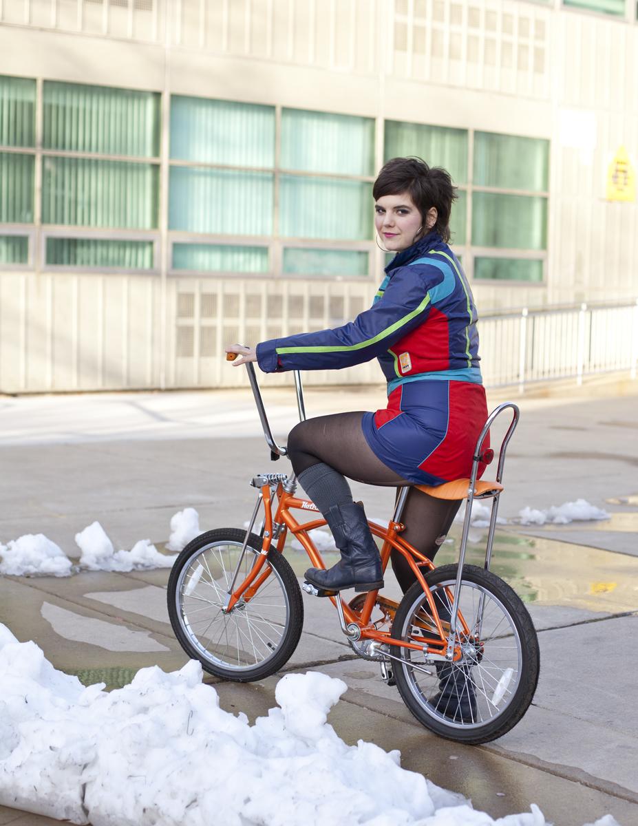 Bike Fancy Chicago Bike Winter Fashion Show Photos