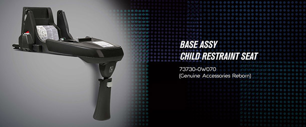 Base Assy Child Restraint Seat