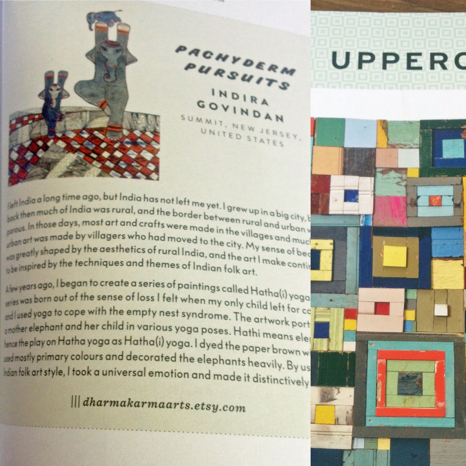 Published In Uppercase