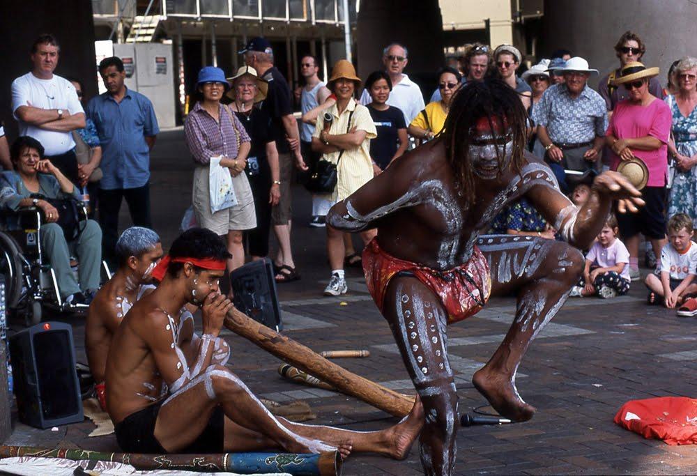 Aboriginal Buskers Sydney 181