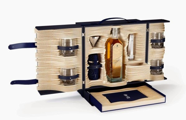 JOHNNIE WALKER BLUE LABEL EDICIÓN ALFRED DUNHILL