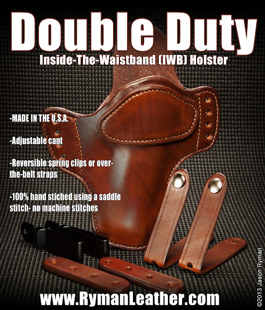 1911 glock springfield colt Custom holster leather knife sheath gerber leatherman sog rat ontario dangler woodmans pal woodsmans pal Jason Ryman Ryman Leather kansas southwest