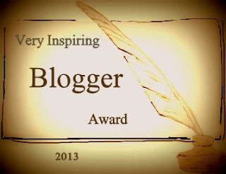 VERY INSPIRING BLOGGER AWARD.