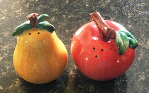 Apple and Pear Salt n' Pepper Shakers. Click on Image for more details