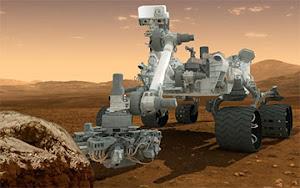 Curiosity Rover on Track