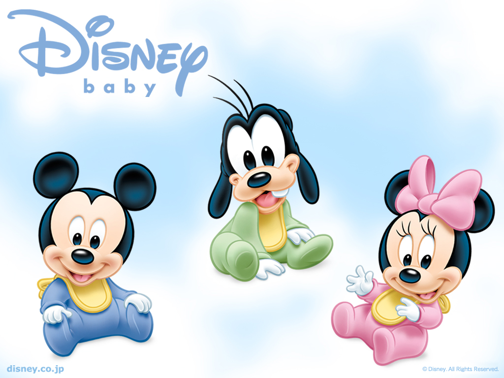 Baby Disney - Mickey, Minnie, Donald, Margarida, Pateta e Pluto