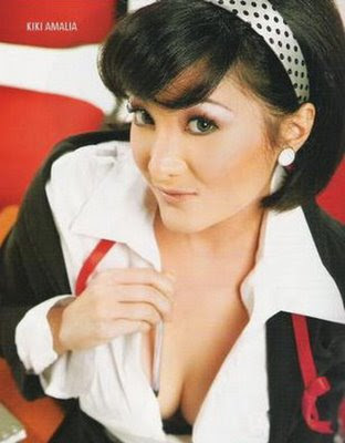 celebrity Kiki Amalia bra 36C size
