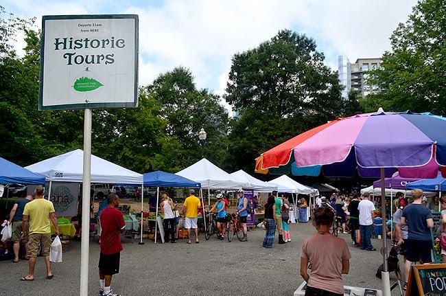 Piedmont Park History Tour, Green Market