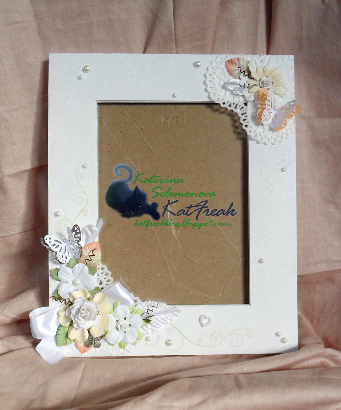 Сделать рамку для свадебного фото своими руками