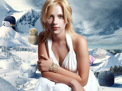 Scarlett Johansson Awesome Wallpapers