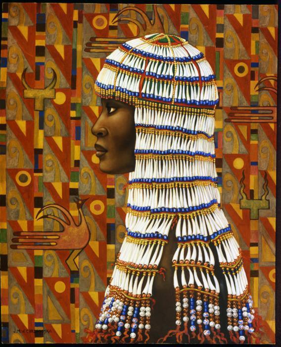 Intrique | Jane Whiting Chrzanoska 1948 | American painter