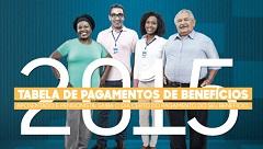 ACESSE AQUI A TABELA DE PAGAMENTOS DE BENEFICIOS DO INSS.