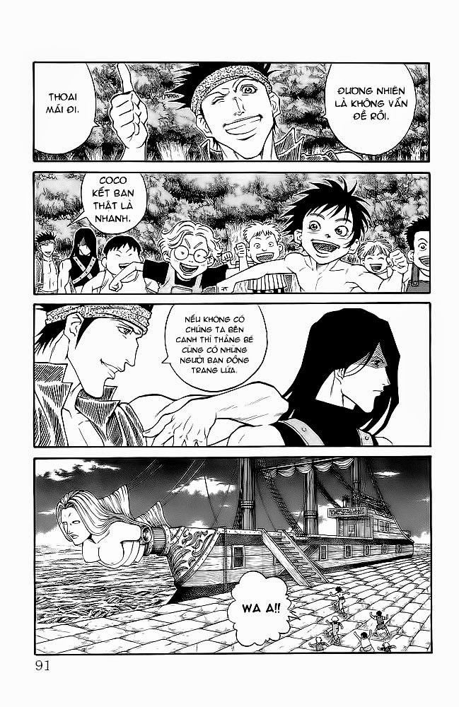 Vua Trên Biển – Coco Full Ahead chap 218 Trang 6 - Mangak.info