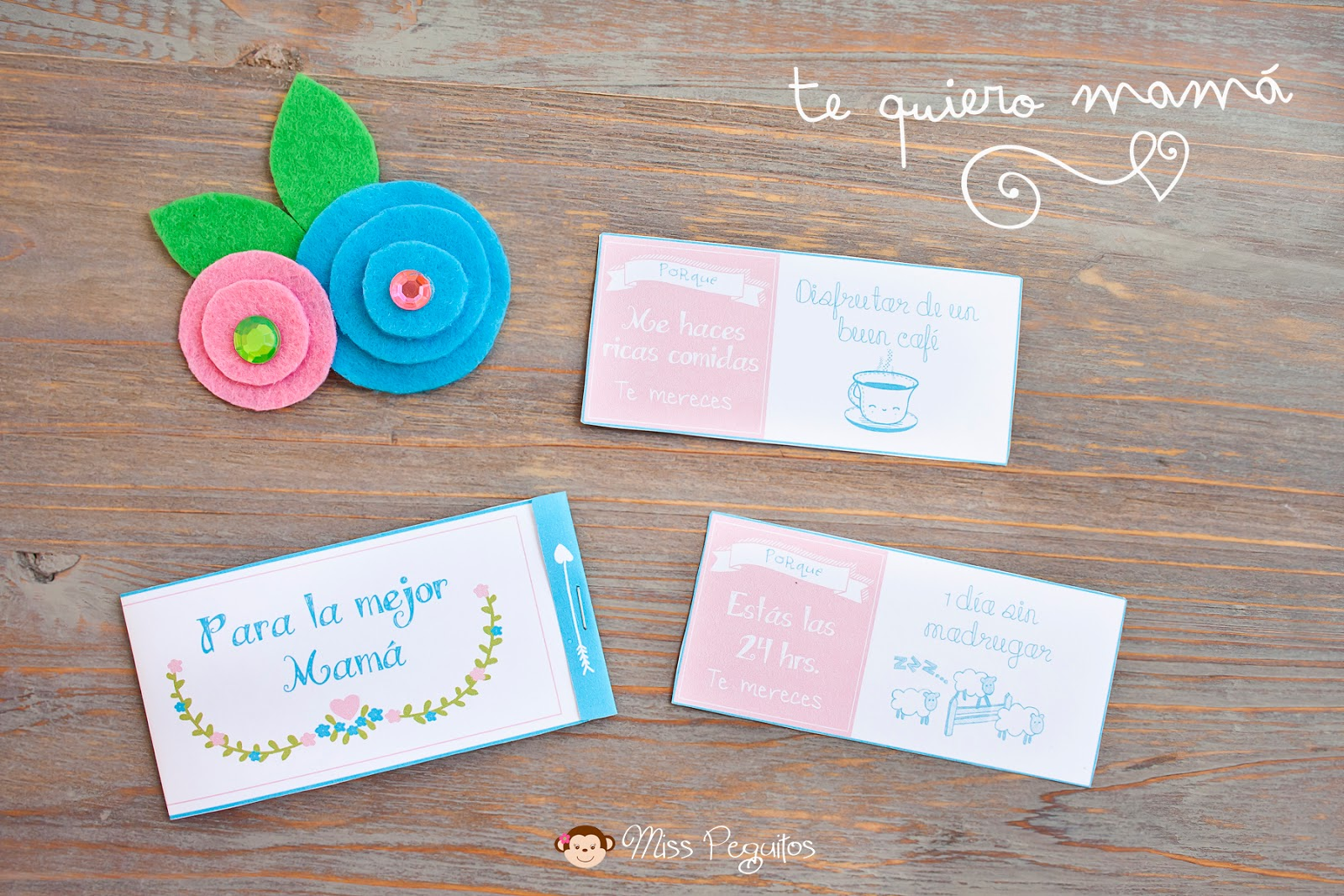 diy broche día de la madre Brooch mother day's