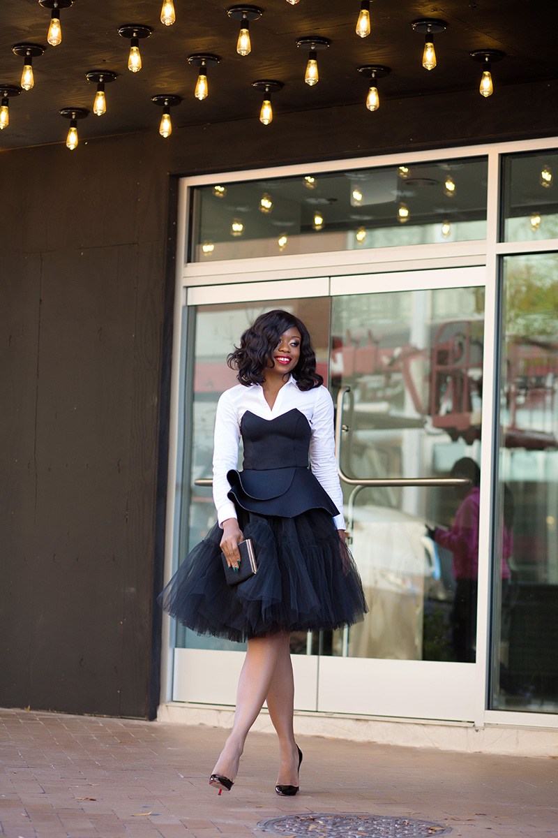 Partytime in tulle skirt, www.jadore-fashion.com