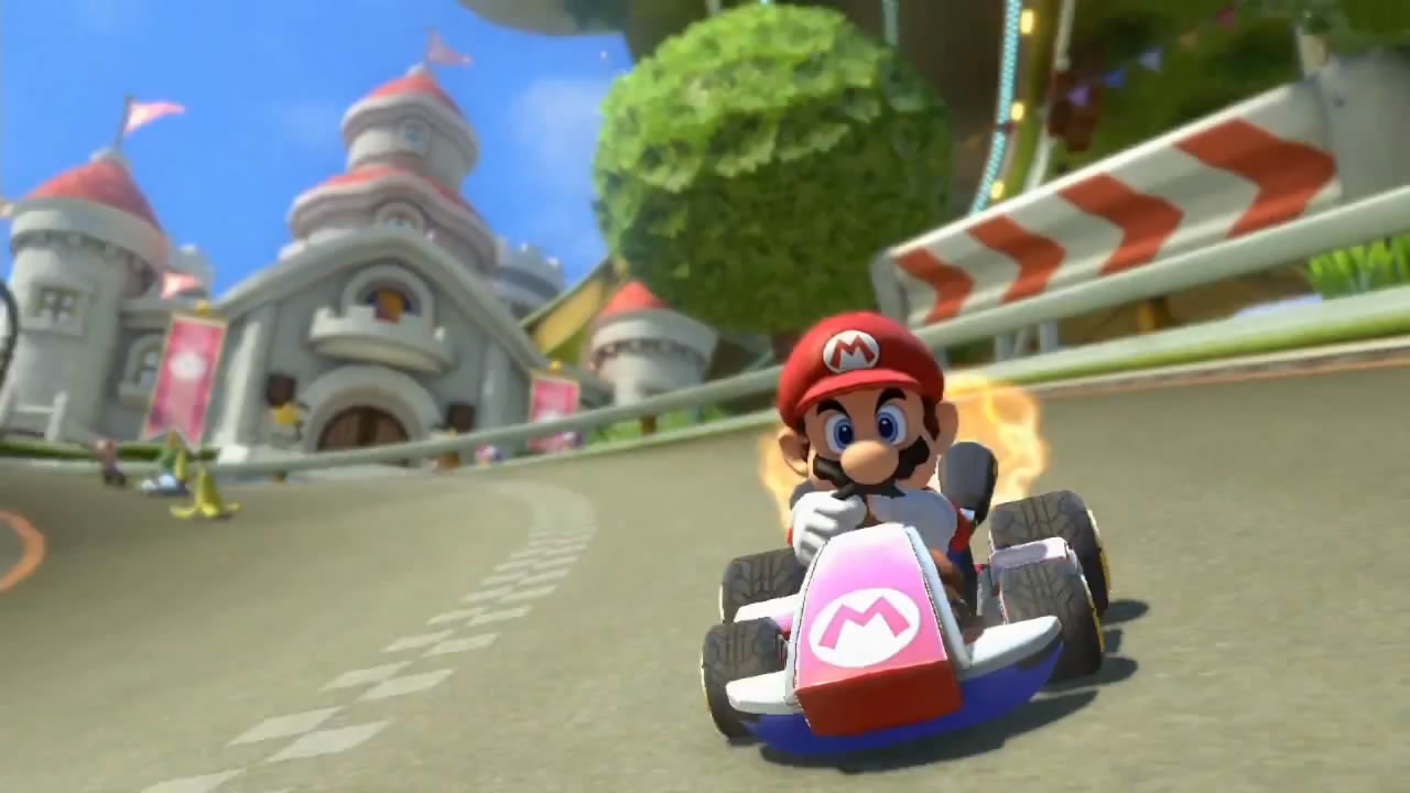 mario kart 8 wii u trailer. Black Bedroom Furniture Sets. Home Design Ideas