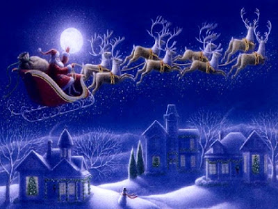 Twas the Night before Christmas Poem Lyrics