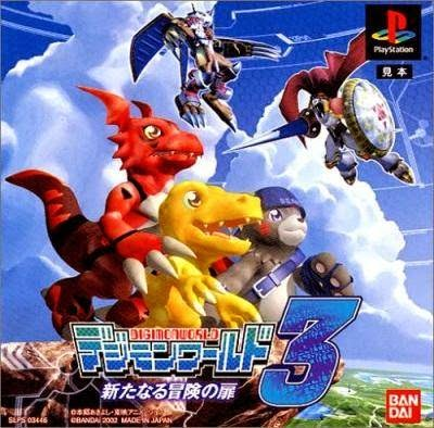 game iso ps1 digimon world 3