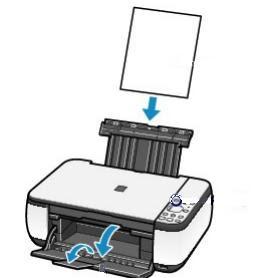 Как загрузить бумагу в принтер