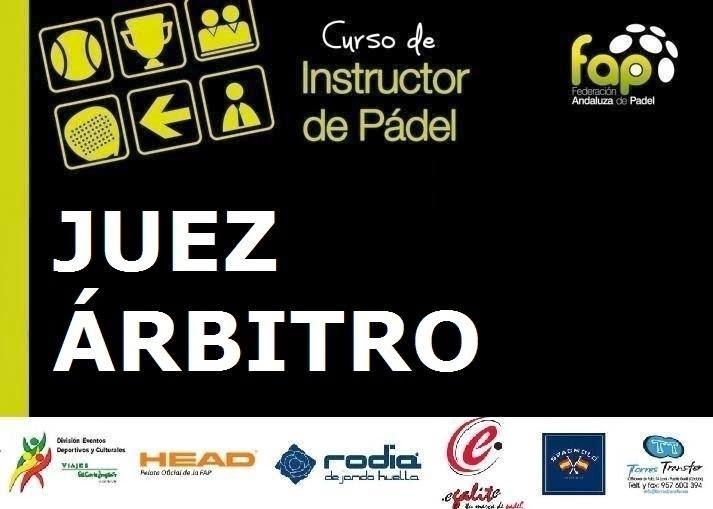 Cartel anunciador de curso de Juez Árbitro de la F.A.P. en Sevilla