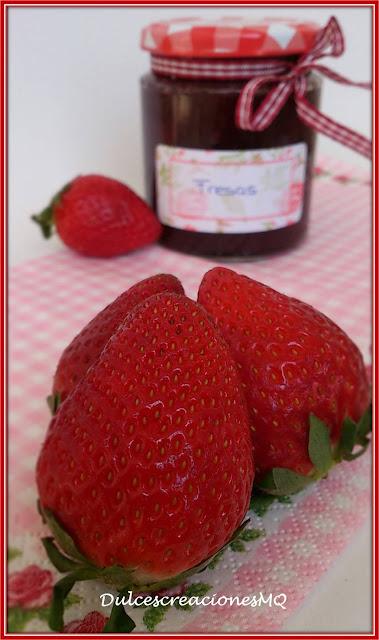 Mermelada Fresas Fresones Primavera Fruta Dulce Pasión Amor Postre Desayuno Merienda Azúcar Vainilla Tarde Conservas Caseras