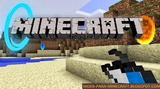 Portal Gun Mod para Minecraft 1.7.10 (Beta)