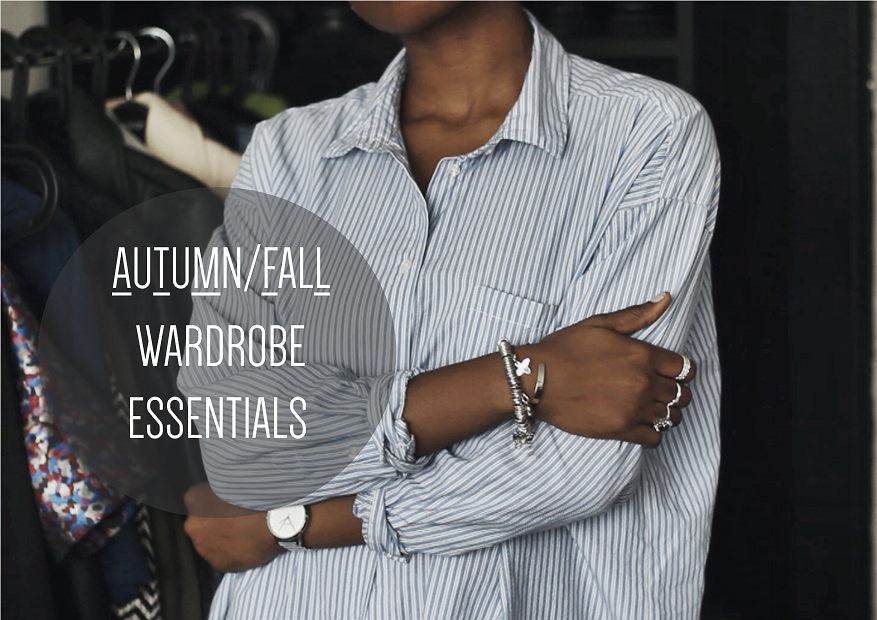Autumn/Fall Wardrobe Essentials