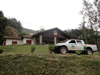 Casa onde funcionará a Sede Administrativa do Parque Natural Municipal Montanhas de Teresópolis