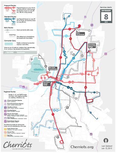 Salem Breakfast On Bikes Cherriots Board To See New Rideshare Strategic Plan