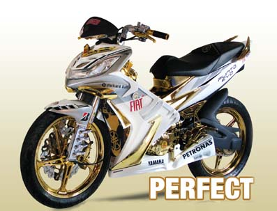 Modifikasi Motor Jupiter Mx Thn 2007