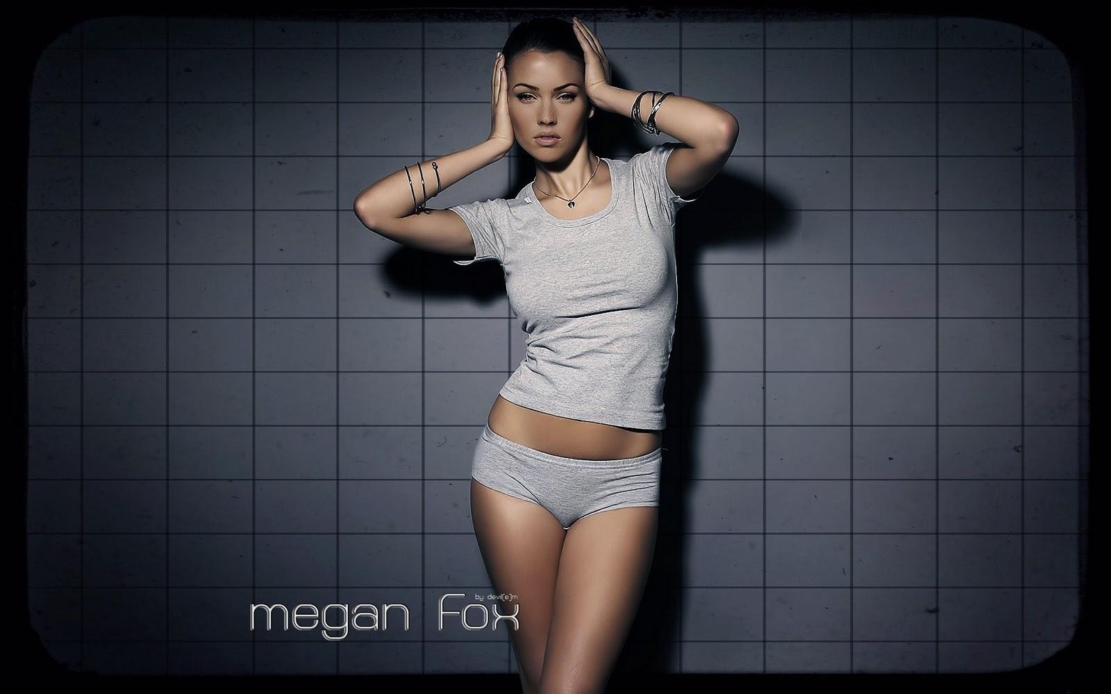 hollywood wallpedia: megan fox wallpaper widescreen hd