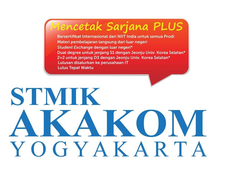 INFO : PENDAFTARAN MAHASISWA BARU STMIK AKAKOM YOGYAKARTA