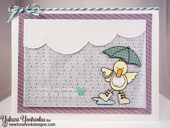 "Get Well Soon by Handmade by Yuki | ""Spring Showers"" by Newton's Nook Designs"