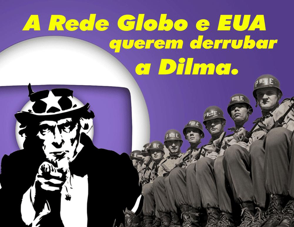 Rede Globo é racista e antiBrasil
