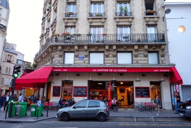 Not drinking poison in paris rock out la cantine de la for Restaurant miroir montmartre
