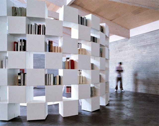 Living Room Bookshelves Designs Freestanding By Lago
