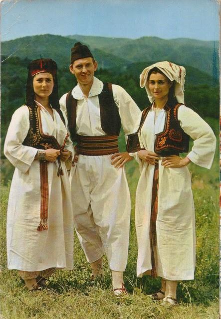 Fashion Traditional Dress Of Bosnia