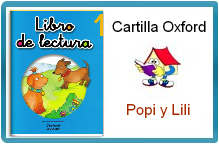 """CARTILLA DE INICIACIÓN """"POPI Y LILI"""" DE OXFORD"""