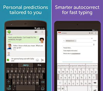 Download Keyboard Swift Key terbaik Android premium apk