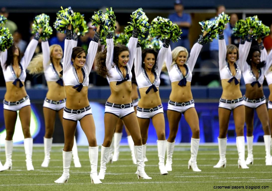 Seattle Seahawks Cheerleaders Wallpaper